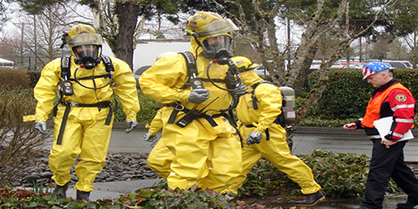 Hazmat Training Exercise